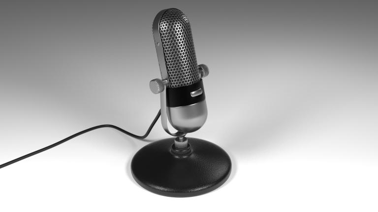 Opname microfoon
